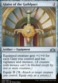 Glaive of the Guildpact - Guilds of Ravnica