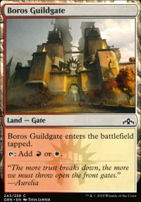 Boros Guildgate 1 - Guilds of Ravnica