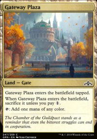 Gateway Plaza - Guilds of Ravnica