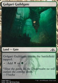 Golgari Guildgate 1 - Guilds of Ravnica