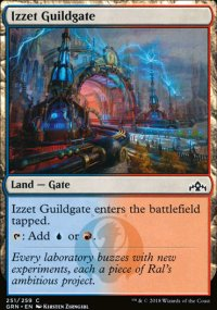 Izzet Guildgate 1 - Guilds of Ravnica