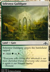 Selesnya Guildgate 1 - Guilds of Ravnica