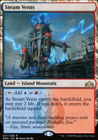 Steam Vents - Guilds of Ravnica