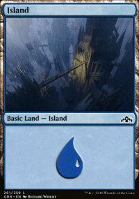 Island - Guilds of Ravnica