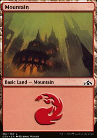 Mountain - Guilds of Ravnica