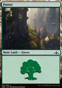 Forest - Guilds of Ravnica