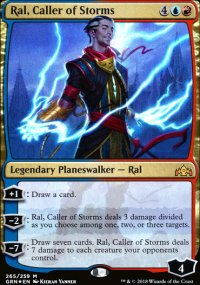 Ral, Caller of Storms - Guilds of Ravnica
