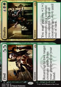 Find / Finality - Guilds of Ravnica