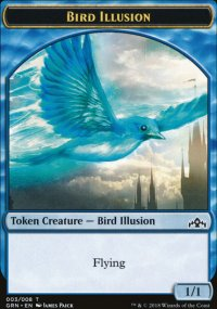 Bird Illusion - Guilds of Ravnica