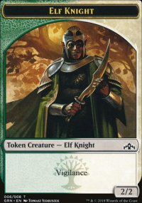 Elf Knight - Guilds of Ravnica