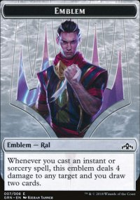 Emblem Ral, Izzet Viceroy - Guilds of Ravnica
