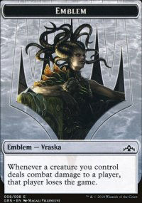 Emblem Vraska, Golgari Queen - Guilds of Ravnica