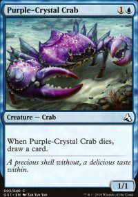 Purple-Crystal Crab - Global Series Jiang Yanggu & Mu Yanling