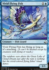 Vivid Flying Fish - Global Series Jiang Yanggu & Mu Yanling