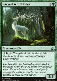 Sacred White Deer - Global Series Jiang Yanggu & Mu Yanling