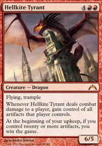 Hellkite Tyrant - Gatecrash