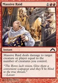 Massive Raid - Gatecrash