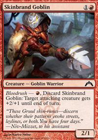 Skinbrand Goblin - Gatecrash