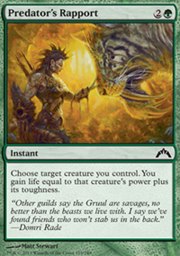 Predator's Rapport - Gatecrash