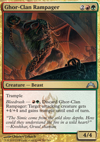 Ghor-Clan Rampager - Gatecrash