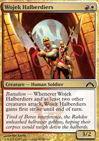 Wojek Halberdiers - Gatecrash