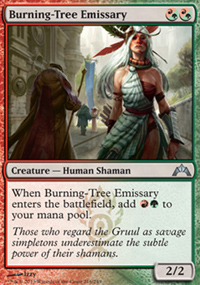 Burning-Tree Emissary - Gatecrash