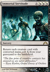 Immortal Servitude - Gatecrash