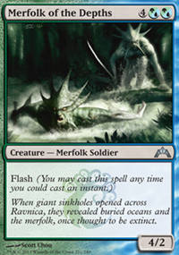 Merfolk of the Depths - Gatecrash