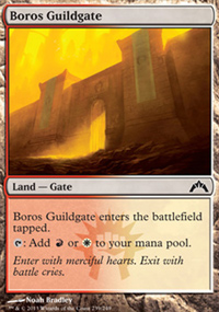 Boros Guildgate - Gatecrash