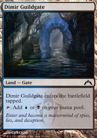 Dimir Guildgate - Gatecrash