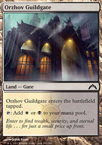 Orzhov Guildgate - Gatecrash