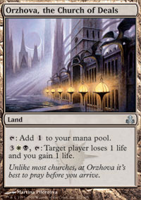 Orzhova, the Church of Deals - Guildpact