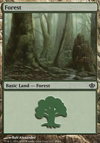 Forest 1 - Garruk vs. Liliana