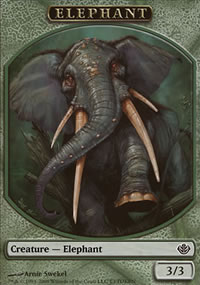 Elephant - Garruk vs. Liliana