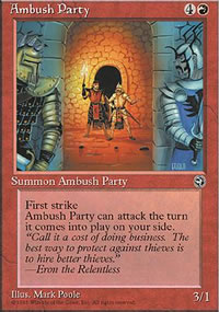 Ambush Party 1 - Homelands