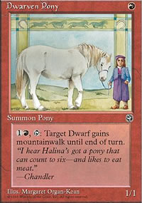 Dwarven Pony - Homelands