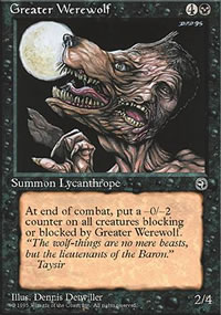 Greater Werewolf - Homelands