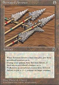 Serrated Arrows - Homelands