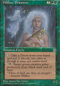 Willow Priestess - Homelands