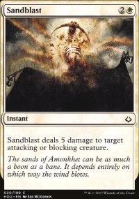 Sandblast - Hour of Devastation
