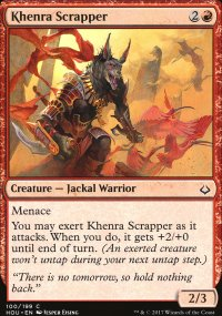 Khenra Scrapper - Hour of Devastation