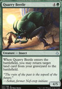 Quarry Beetle - Hour of Devastation
