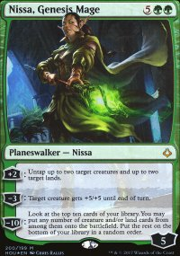 Nissa, Genesis Mage - Hour of Devastation
