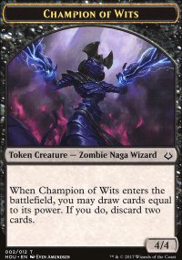 Champion of Wits Token - Hour of Devastation