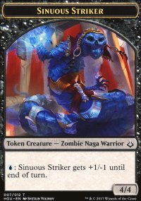 Sinuous Striker Token - Hour of Devastation