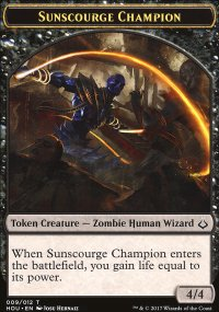 Sunscourge Champion Token - Hour of Devastation
