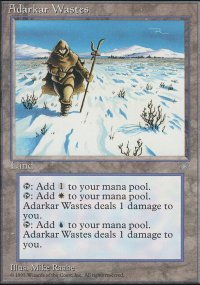 Adarkar Wastes - Ice Age