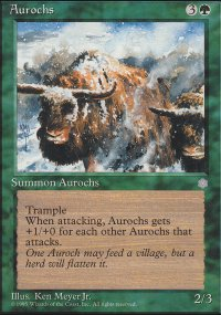 Aurochs - Ice Age