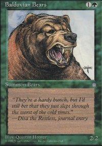 Balduvian Bears - Ice Age