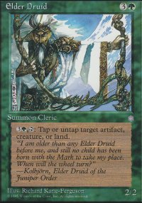 Elder Druid - Ice Age